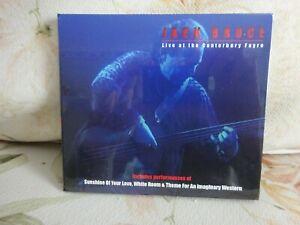 Jack Bruce - Live at the Canterbury Fayre- Cd (2014) Digipak- new - Freepost uk
