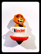 Kinder Surprise ALEX MADAGASCAR TAZZA MUG SCRITTA KINDER RARO DIMESIONI 4 CM.