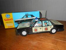 altes Blechspielzeug, Polizeiauto der Fa. Gürel