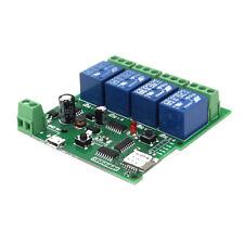 Geekcreit USB 5V Or DC 7V-32V DIY 4 Channel Jog Inching Self-locking WIFI Wirele