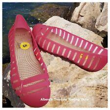 76c772fd2 NWT CROCS Adrina Flats II Women s Shoes in Hot Pink Size US 5 EU 34