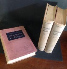 Enciclopedia degli Aneddoti Palazzi 3 vol Editore Ceschina Milano 1946