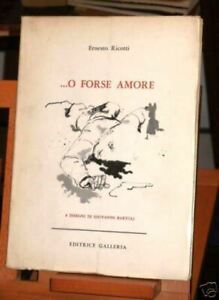 1965 Ricotti ...O FORSE AMORE / disegni di G. Bartoli