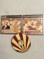 live recorded in august 1981 in Austin - Texas - Pat Benatar - cd - Greatest hit