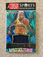 2016-17 SPECTRA MONTA ELLIS CATALYSTS GAME USED JERSEY #D /99 BLUE PRIZM PACERS