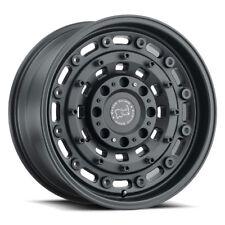 17 inch 17x9.5 Black Rhino Arsenal Matte Black wheel rim 5x5 5x127 -18