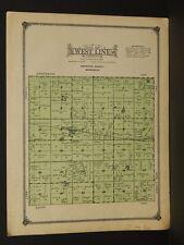 Minnesota Redwood County Map West Line Township 1914 W3#63