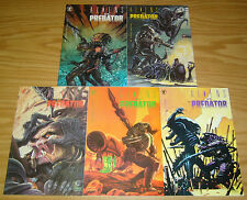 Aliens vs Predator #0 & 1-4 VF/NM complete series - dark horse comics set 2 3