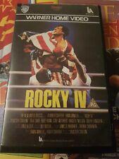 ROCKY IV 4 - WARNER HOME VIDEO - VHS - BIG BOX - EX RENTAL
