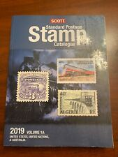 2019 Scott Standard Postage Stamp Catalogue Vol 1A Us, Un and A-Australia