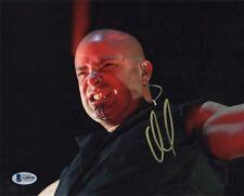 DAVID DRAIMAN SIGNED AUTOGRAPHED 8x10 PHOTO LEAD VOCALIST DISTURBED BECKETT BAS