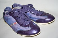 Women's Diesel Industry Trainers Leather Synthetic Purple Gym Yoga UK5 EUR 38