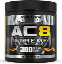 AC8 Xtreme | Tropical Blast | Pre Workout Supplement | Energy & Muscle | 300g