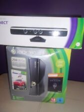 Xbox 360 console with kinect many  games  and karokie game with mic