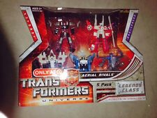Transformers UNIVERSE LEGENDS 5-PACK AERIAL RIVALS New Target Exclusive Rare