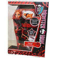 New | Monster High Toralei Doll  Pet & Diary | Campus Stroll | Mattel W9117
