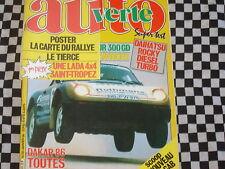 8éme PARIS-DAKAR 1986 JANVIER / AUTO VERTE N° 56