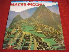 LP Machu-Picchu Alejandro Vivanco Jaime guardia ORIG. sono radio 60er rarità