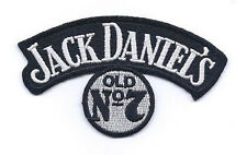 JACK DANIELS OLD NO7 EMBROIDERED IRON ON BIKER PATCH