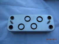 Vokera Compact 29 29HE DHW Domestic Hot Water Plate Heat Exchanger & Seals 8037