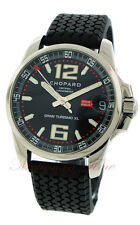 Chopard Mille Miglia Gran Turismo XL, Black Dial - Steel on Rubber -16/8997-3001