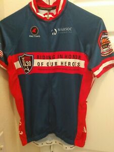 Pactimo Men's Cycling Marsoc Riding in Honor of our heroes Boeing Size M