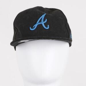 Infant New Era 9Fifty MLB Atlanta Braves Snapback Black/Blue (SJH) RRP £14.99
