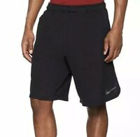 Nike Mens Dri Fit Black Shorts Running Tennis Sports Gym Medium Jogging Football