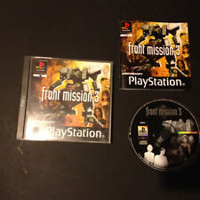 Front Mission 3 Play Station Playstation PS1 PAL ESPAÑOL