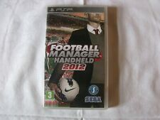 football Manager Handheld 2012, PSP , Good condition,  English version,