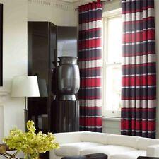 Rideaux et cantonnières noirs en polyester pour la maison