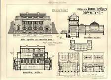 1904 Proposed Public Library Bromley Brunswick Road Squire Myers Petch