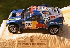 VW VOLKSWAGEN RACE TOUAREG #301 RALLYE PARIS DAKAR 2006 SABY PERIN NOREV 1/43