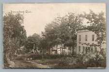 Brownsburg Quebec RPPC Rare Antique Laurentides Lachute Photo CPA Dirt Road 1915