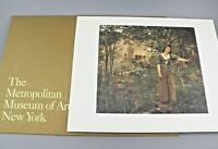 Vintage JOAN OF ARC, 1879 Print The Metropolitan Museum of Art 1996 w/Folder EUC