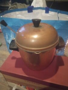 Copper Urn And Ladel