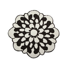 Missoni Home Bath rug 80 cm black and white OTIL diameter
