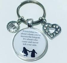 Penguin friend keyring * friendship gift  * Free P&P * Best friend * friends