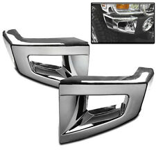 2006-2010 HUMMER H3 H3T FRONT CORNER BUMPER COVERS TRIM CHROME KIT L+R NEW SET