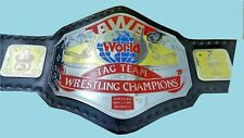 AWA World Tag Team Wrestling Championship Belt Adult Size genuine leather