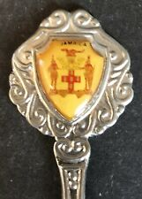 Jamaica with Crest (top) on Souvenir Spoon - pre-owned