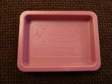 BUILD A BETTER BURGER GAME SPARES FOR VINTAGE 1984  ACTION GT PURPLE TRAY