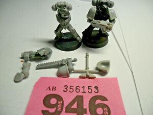 Warhammer 40k 30k Rogue Trader Space Marine metal and plastic bits R946