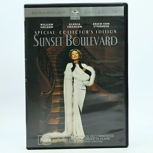 Sunset Boulevard Rare DVD William Holden Good Condition Free Tracked Post