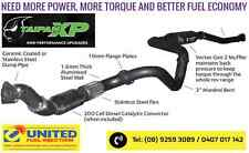 FORD PX RANGER 3.2L MK2 TAIPAN XP VORTEX EXHAUST. BE DIFFERENT ;-) 2015 ONWARDS