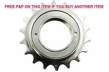 18 TEETH SILVER BMX FIXIE FREEWHEEL SPROCKET REAR COG SINGLE SPEED BIKE CASSETTE