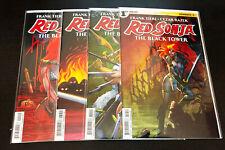 RED SONJA Black Tower (2014 Dynamite) -- #1 2 3 4 5 -- FULL Series