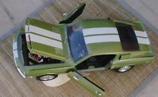 1968 Ford Mustang Shelby GT 500KR 1/18 Scale Green White