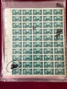 FDR White House 1 cent Sheets of 50 Mint Stamps Great Condition
