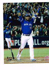 Toronto Blue Jays 8x10 Picture MLB Baseball Edwin Encarnacion ALWC Home Run
